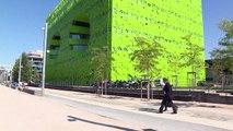Euronews s'installe dans son nouveau siège à Lyon