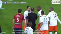 Sofiane Boufal Goal Lille 1 - 0 Montpelier Ligue 1 2-10-2015