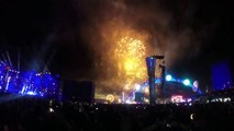 EDC Las Vegas 2014 - Day 3 - Fireworks, Intro to W&W
