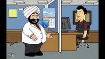 E-Banking Password - Santa Banta Funny Videos In Hindi