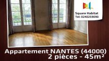 A vendre - Appartement - NANTES (44000) - 2 pièces - 45m²