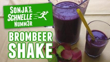 Brombeer-Shake - Rezept (Sonja's Schnelle Nummer #82)