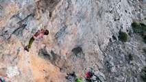 Rock Climbers Falls   A Rock and a Hard Place