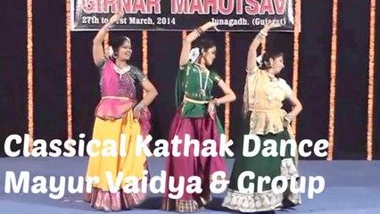 Mayur Vaidya - Classical Indian Dance Forms | Kathak Dance Group | Part 2