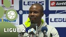 Conférence de presse FC Sochaux-Montbéliard - Valenciennes FC (1-0) :  (FCSM) - David LE FRAPPER (VAFC) - 2015/2016