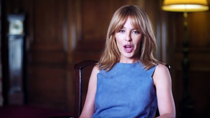 """My muse is not a horse"" Kylie Minogue reads Nick Cave letter to MTV"