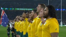 England v Australia - Rugby World Cup National Anthems