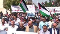 Protest in Jordan against Israeli violation at al Aqsa Mosque
