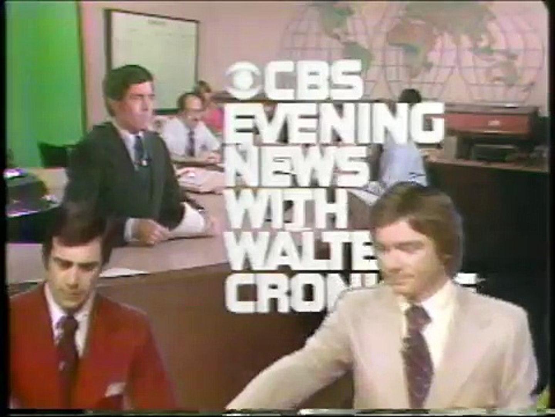 CBS Evening News on Viking I Mars Landing - July, 1976!