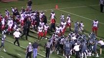 Football américain : grosse bagarre générale dans un match de lycée