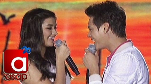 "ASAP: Liza, Enrique sing ""Tunay na Ligaya"" on ASAP"