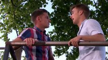 Ste and Harry    10th kiss