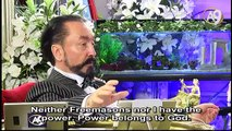 Thanks to Adnan Oktar, the Qur'an is recited in Masonic Lodges and Freemasons perform prayer
