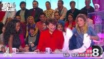 Le grand 8 - Caroline Ithurbide montre ses seins (ou presque) - Mardi 6 octobre 2015.mp4
