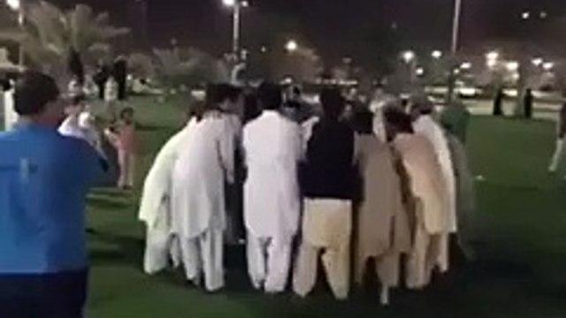 Viral Videos: Pakistani Pathan's Punish Arab Sheikh in Dubai
