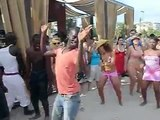 CRIOLA BEACH FESTIVAL, 2012 Party very hot dancing Kuduru, Afro house on the beach!