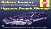 Subaru Legacy, 1990-1998: Includes Legacy Outback and Legacy  Free Book Download