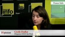 TextO' : Intempéries - Cécile Duflot (EELV) : «On n'a pas assez écouté les écologistes»