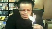Japon mühendis göz göre göre evini yaktı