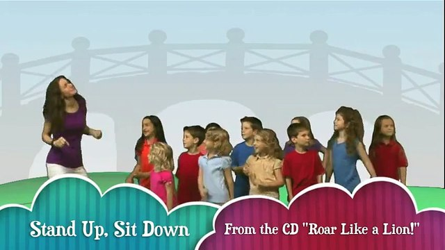 Kids Song Stand Up_ Sit Down by Patty Shukla
