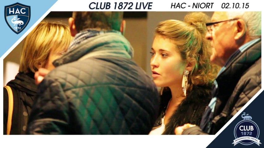 Club 1972 Live - HAC / Niort - 02.10.2015