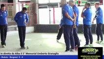 "Finale Gara Internazionale a Quadrette 5° Memorial ""Umberto Granaglia"" - 2015"