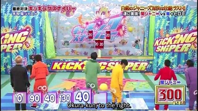 VS Arashi ~Kanjani8 2hr SP (part 6 end) ENG SUB Watch Free Online