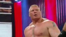 Seth Rollins vs Brock Lesnar - WWE RAW World Heavyweight Championship Match- 30.03.2015