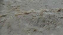 Intempéries Torrent de boue dans les Alpes Maritimes Déluge Pluies torrentielles