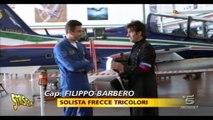 FRECCE TRICOLORI - Striscia la notizia - Magia Tricolore per festeggiare il 25 aprile