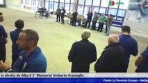 "Premiazione Gara Internazionale a Quadrette 5° Memorial ""Umberto Granaglia"" - 2015"