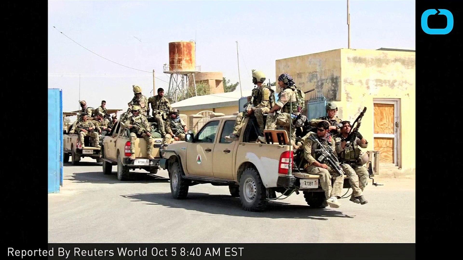 Afghan Forces Called for Air Strike in Kunduz: U.S. General