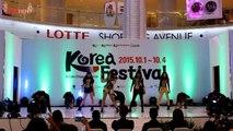 150904 I' GENERATION x onFrame - CBH + Crush [2NE1] at Kpop Festival 2015