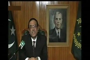Leaked Video of Asif Ali Zardari When He Forgot Speech