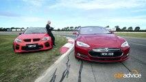 La Tesla Model S plus rapide que la meilleurs des voitures de racing