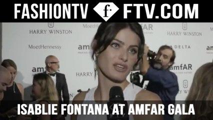 Isabeli Fontana at amfAR Gala | FTV.com