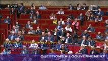 Question d'actualité au Gouvernement du député Christophe Castaner sur la solidarité avec les Alpes Maritimes