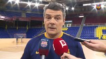 [ESP] FCB Handbol: Xavi Pascual, previa Go Fit Sinfín-FC Barcelona Lassa