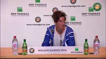 51. Press conference Thanasi Kokkinakis 2015 French Open   R64