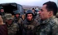 Askere Kimlik soran PKK lılara Yumruklu Cevap