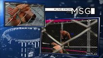 WWE Live From MSG 3-10-2015 John Cena vs Seth Rollins Steel Cage Full Match 3th October 2015 - Video Dailymotion