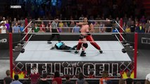 WWE 2K15 the great khali v wade bad news barrett v sub-zero