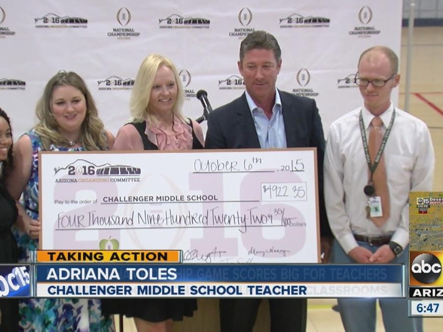 College sports committee treats Valley teachers