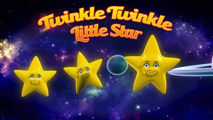 """Twinkle Twinkle Little Star"" - Nursery Rhymes"