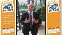 Archive - Interview de Jean-Louis Bancel, membre du Conseil supérieur de l'économie sociale sociale et solidaire (ESS)