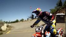 Watch this amazing Motor cycle jump