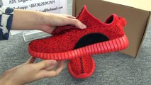 AUTHENTIC ADIDAS YEEZY 350 BOOST LOW RED