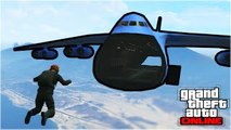 Like A Flying Boss (Skydiving GTA 5 Stunt Montage)