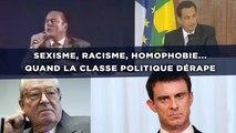 Sexisme, racisme, homophobie... Les pires dérapages de la classe politique