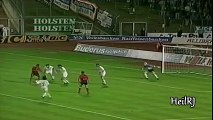 Jay Jay Okocha destroying Oliver Kahn